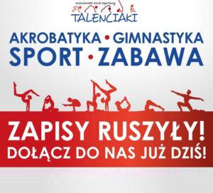 Zapisy na sezon Treningowy 2020/2021 w UKS Talenciaki ruszyły !