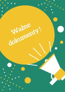 Read more about the article Ważne dokumenty – stan na dzień 2020.10.28
