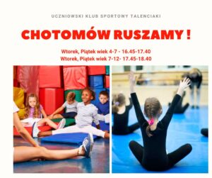 Read more about the article Chotomów Ruszamy!!!